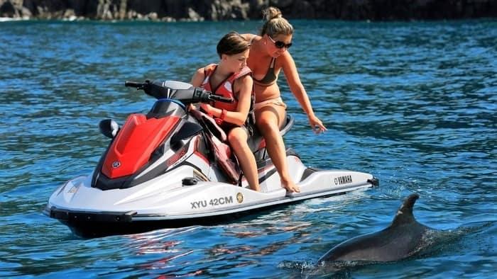 Alquiler motos de agua en Tenerife